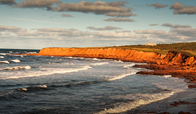 Celebrity Cruises coastal view of Prince Edward Island