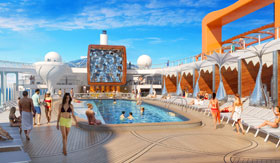 Resort Deck aboard Celebrity Edge