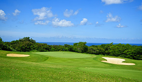 Celebrity Cruises golf course in Barbados