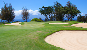 Celebrity Cruises golf hole in Hawaii