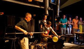 Celebrity Cruises Hot Glass Show by Corning Museum of Glass