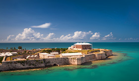 Celebrity Cruises Kings Wharf in Bermuda