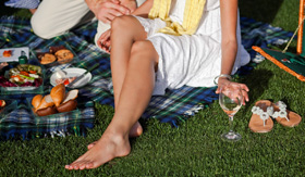 Celebrity Cruises Lawn Club Picnic