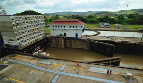 Celebrity Cruises Miraflores Locks Panama Canal