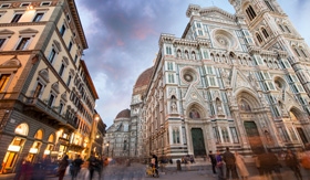 Celebrity Cruises Piazza del Duomo Florence