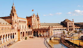 Celebrity Cruises Plaza of Spain Seville Spain