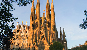 Celebrity Cruises Sagrada Familia in Barcelona Spain