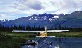 Celebrity Cruises Seaplane in Alaska