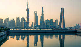 Celebrity Cruises Shanghai Skyline