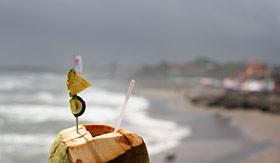 Refreshing Coconut Drink