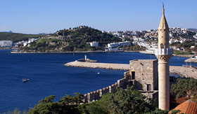 Celebrity Cruises St Peters Castle in Bodrum Turkey
