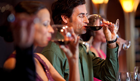 Celebrity Cruises variety of wines to taste