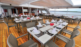 Celebrity Xperience Al Fresco Dining