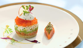 Celebrity dining The Normandie