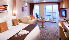 Celebrity staterooms Aquaclass Suite