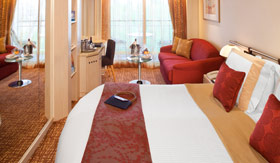 Celebrity staterooms Concierge Class Stateroom