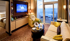 Celebrity staterooms Signature Suite