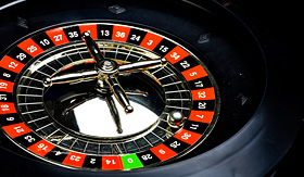 Cruise to Nowhere Casino roulette table