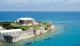 King's Wharf in Bermuda
