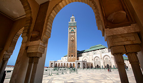 Crystal Cruises Hassan II Mosque Casablanca Morocco