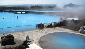 Crystal Cruises hot springs Myvatn Nature Baths Iceland