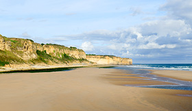 Crystal Cruises Omaha Landing Beach Normandy