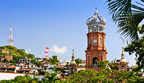 Crystal Cruises - Our Lady of Guadalupe in Puerto Vallarta