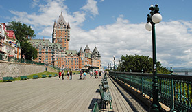 Quebec City Waterfront