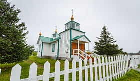 Crystal Cruises Russian Orthodox Church Ninilchik Alaska