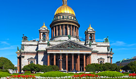 Crystal Cruises Saint Isaac's Cathedral St Petersburg Russia