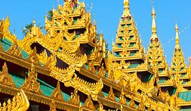 Crystal Cruises Shwedagon Paya Yangoon Myanmar
