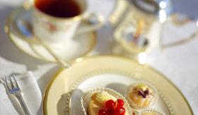 Crystal dining Afternoon Tea