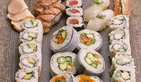Crystal dining Silk Road and Sushi Bar