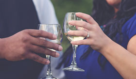 Crystal River Cruises Champagne Toast