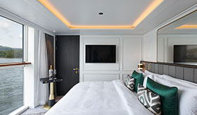 Crystal River Cruises Deluxe Suite with Panoramic Balcony-window