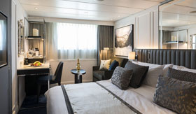 Crystal River Cruises Suite with Fixed Window