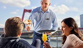Crystal River Cruises Vista Deck