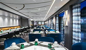 Crystal River Cruises Waterside Restaurant