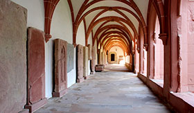 Eberbach Monastery in Rudesheim, Germany