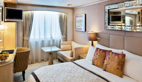 Crystal staterooms Deluxe Stateroom