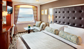 Crystal staterooms Pure Deluxe Staterooms
