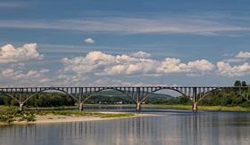 Cuanrd Line St John river Hartland New Brunswick