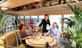 Cunard dining Lido Restaurant