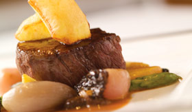 Cunard dining Verandah Restaurant