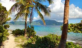 Cunard Line Beach in Jost Van Dyke, British Virgin Islands