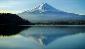 Mount Fuji, Japan - Cunard Line