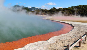 Rotorua Thermal Valley in New Zealand - Cunard Line