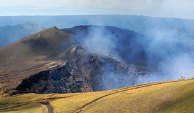 Cunard Line volcano Masaya National Park Nicaragua