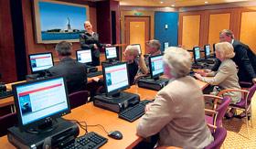 Cunard onboard activities Cunard ConneXions