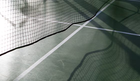 Cunard onboard activities Sport Court tennis